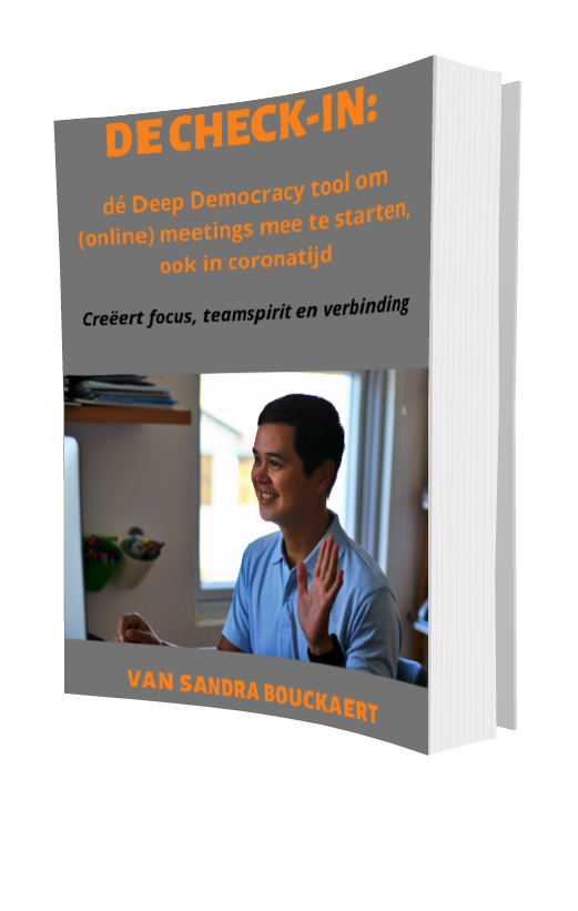 Sandra Bouckaert Deep Democracy: ebook De Check-In 3d-kaft
